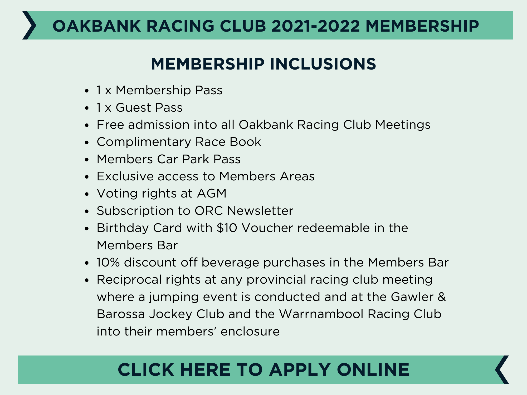 Oakbank Membership