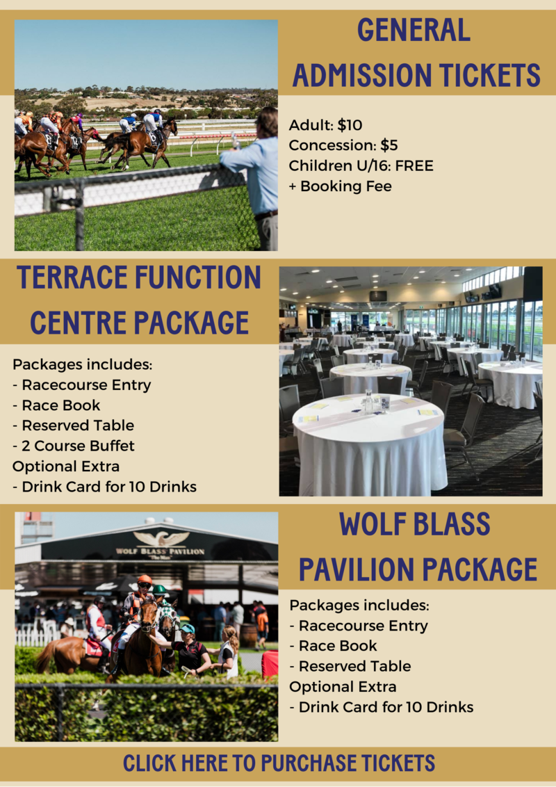 Gawler Race Day Packages